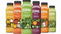 One bottle of ZÜPA NOMA has four servings of vegetables and 70-90 calories