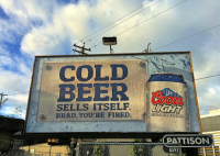 Unfortunately, cold beer doesn't simply sell itself. That would put beverage marketers and branding experts out of a job... (Picture Credit: Kyle Pearce/Flickr)