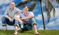 Vita Coco co-founders Michael Kirban (left) and Ira Liran (right)