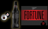 Miller Fortune: 'Brewed for more spirited nights. It's undistilled, yet finishes smooth', according to Miller Coors