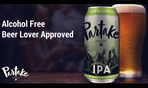 Partake Brewing Non Alcoholic Craft Beer Kickstarter Launch