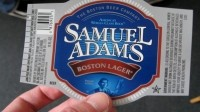Samuel Adams Boston Lager: Label snapped during 2008 beer tour (Flickr/EPJHU)