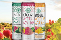 Steaz cactus water line hits 1,000+ stores with new distribution deals