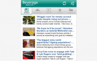 BeverageDaily.com? There's an app for that!