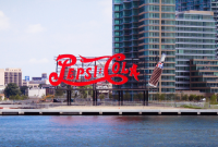 The famous Pepsi-Cola sign in Queens, NYC. Pepsi is one of the brands bottled by G&J Pepsi-Cola Beverages (Photo: Roger Braunstein/Flickr)