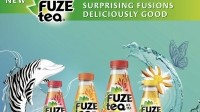 Coca-Cola launches Fuze Tea backed by 'multi-million dollar' campaign