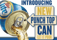 MillerCoors made a real PR splash with the launch of its 'punch top' can for Miller Lite across the US on April 27; the European can end is different, and still awaits a big name brewer