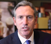 Photo: Starbucks CEO Howard Schultz