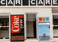 Coke v. Pepsi - The worldwide struggle continues... and here in Indianapolis, June 1988 (Picture Credit: Bob Hall/Flickr)