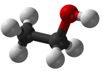 Industry tail wagged UK government dog over Minimum Unit Pricing (MUP)? (Picture: Molecular model of ethyl alcohol)