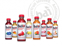The Bai 5 range includes flavors such as Limu Lemon and Molokai Coconut