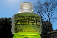 Powerade Lemon Lime: Coke denies a FOE report claim that it uses nano-sized titanium dioxide (Photo: SwipInc/Flickr)