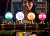 SAB Miller beers on tap in Romania (Photo: SAB Miller)