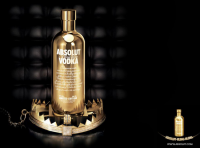 Restless innovators who retain a clear brand identity: Absolut Bling is one of the brand's successful special editions