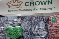 The Crown Bevcan Europe & Middle East stand at Brau