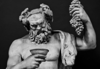 The Roman god of wine Dionysus or Bacchus (Photo: Derek Key/Flickr)