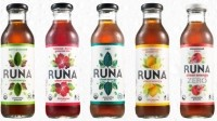 One 414ml bottle of Runa tea contains 90mg of caffeine, while a 250ml can of its clean energy drink has 120mg  (a can of Red Bull has 80mg)