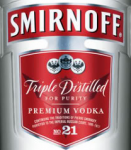 Smirnoff Vodka is one of the Diageo drinks currently distributed by Major Brands in Missouri